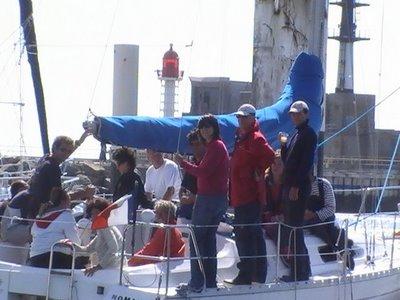 l'apéro sympa sur le bateau à voile - TML Voile