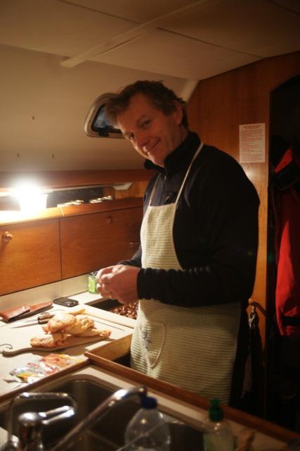 Denis en cuisine - TML Voile