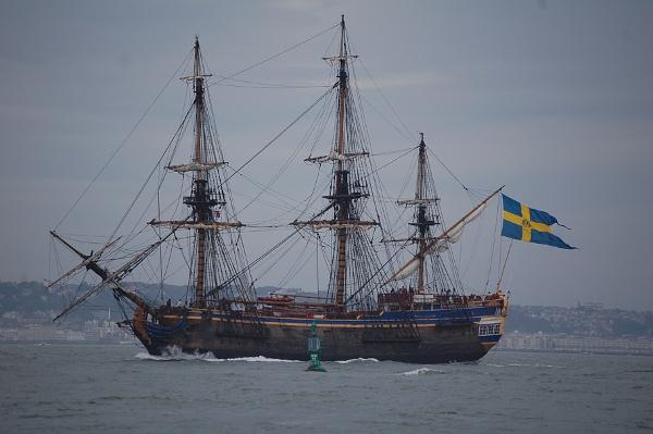 navire école Götheborg (Suède) - TML Voile