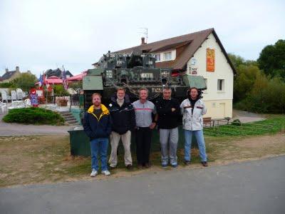 L'équipe Franco-Australo-Belge après l'assaut - TML Voile