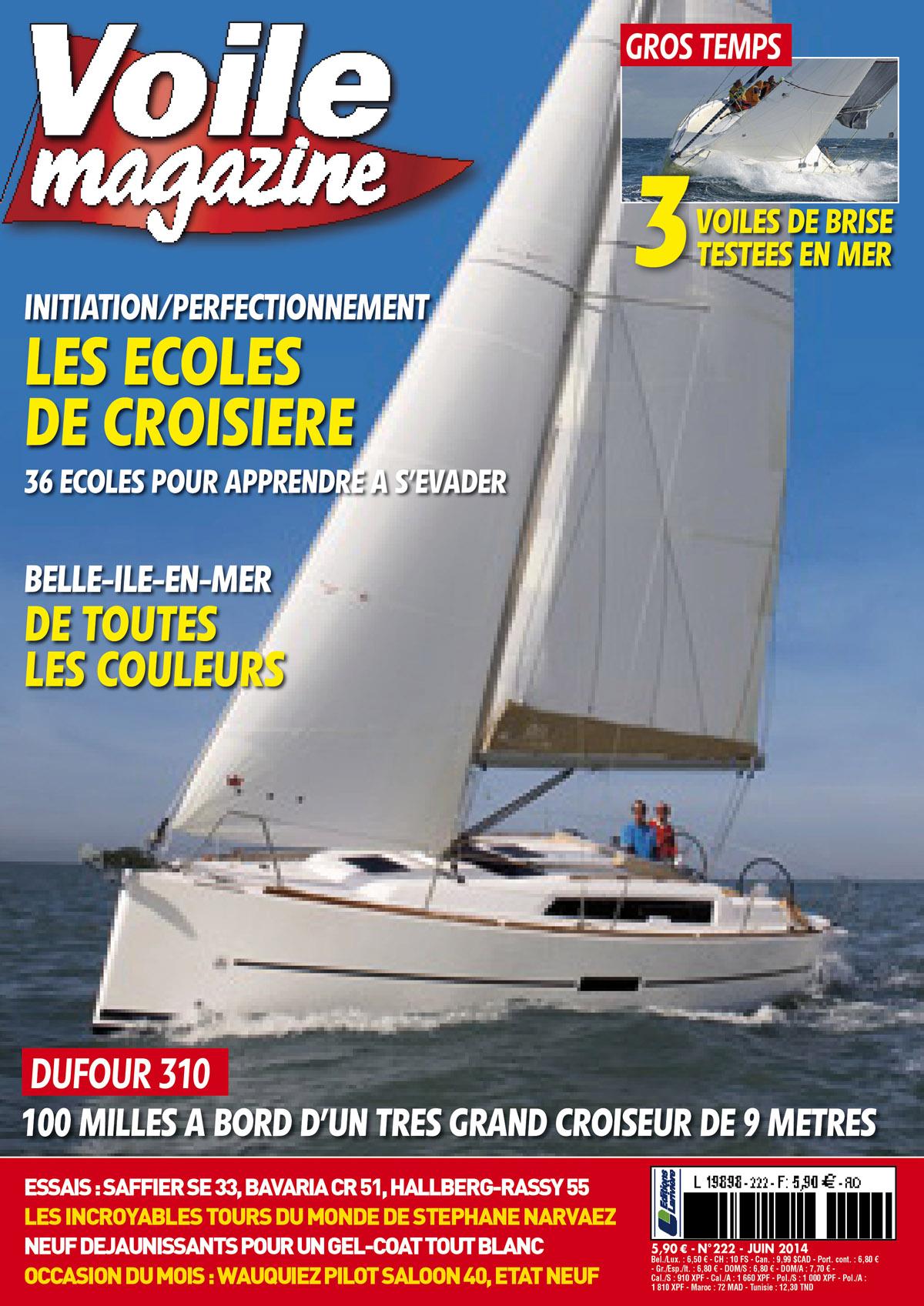 couverture Voile Magazine